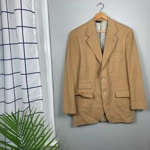 The Andover Shop Vintage Tan Camelhair Jacket